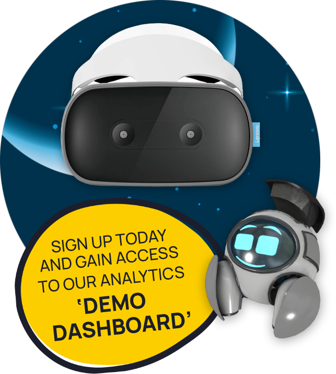 Sign up and gain access to Demo Dashboard